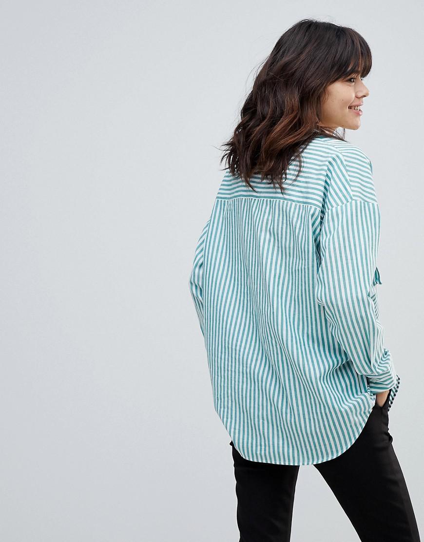 f23c33031ab6 asos-green-Asos-Oversized-Utility-Long-Sleeve-Shirt-In-Green-Stripe.jpeg