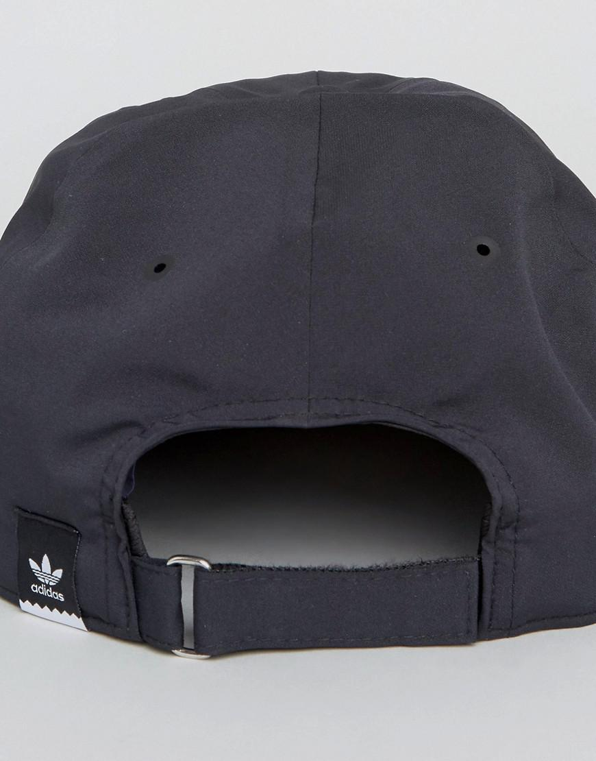 050c87b9519 adidas Originals Tech Crusher Cap In Black Bq5143 in Black for Men ...