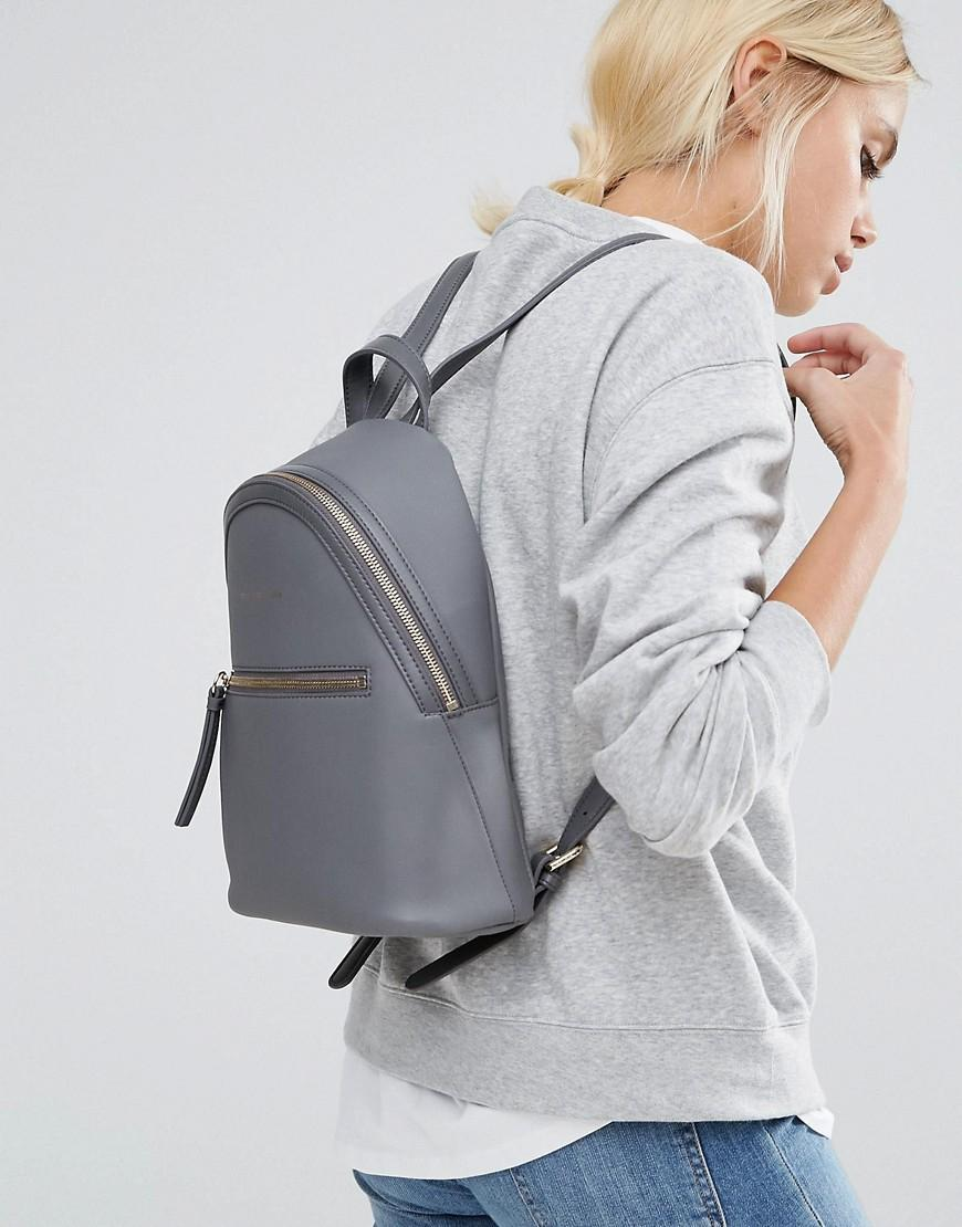 098cfe79049 Tommy Hilfiger Mini Backpack in Gray - Lyst