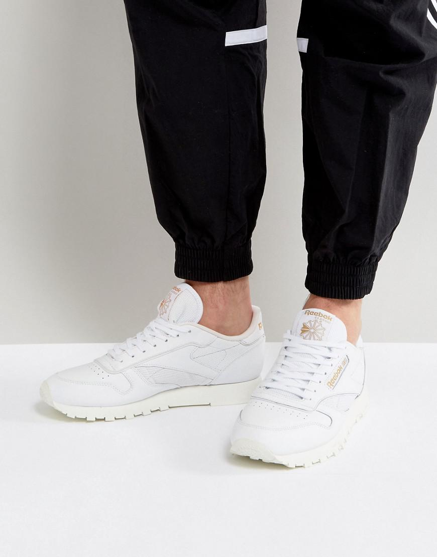 1032f94849de9 Reebok Classic Leather Alr Trainers In White Bs5241 in White for Men ...