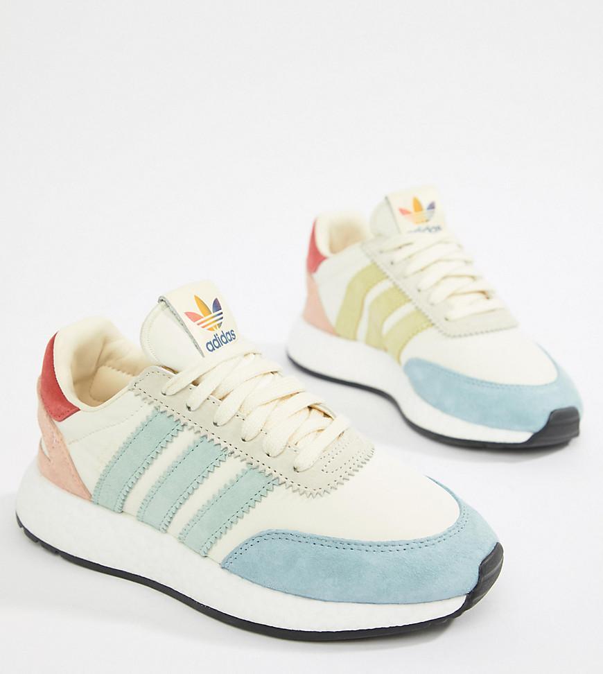 rainbow adidas trainers