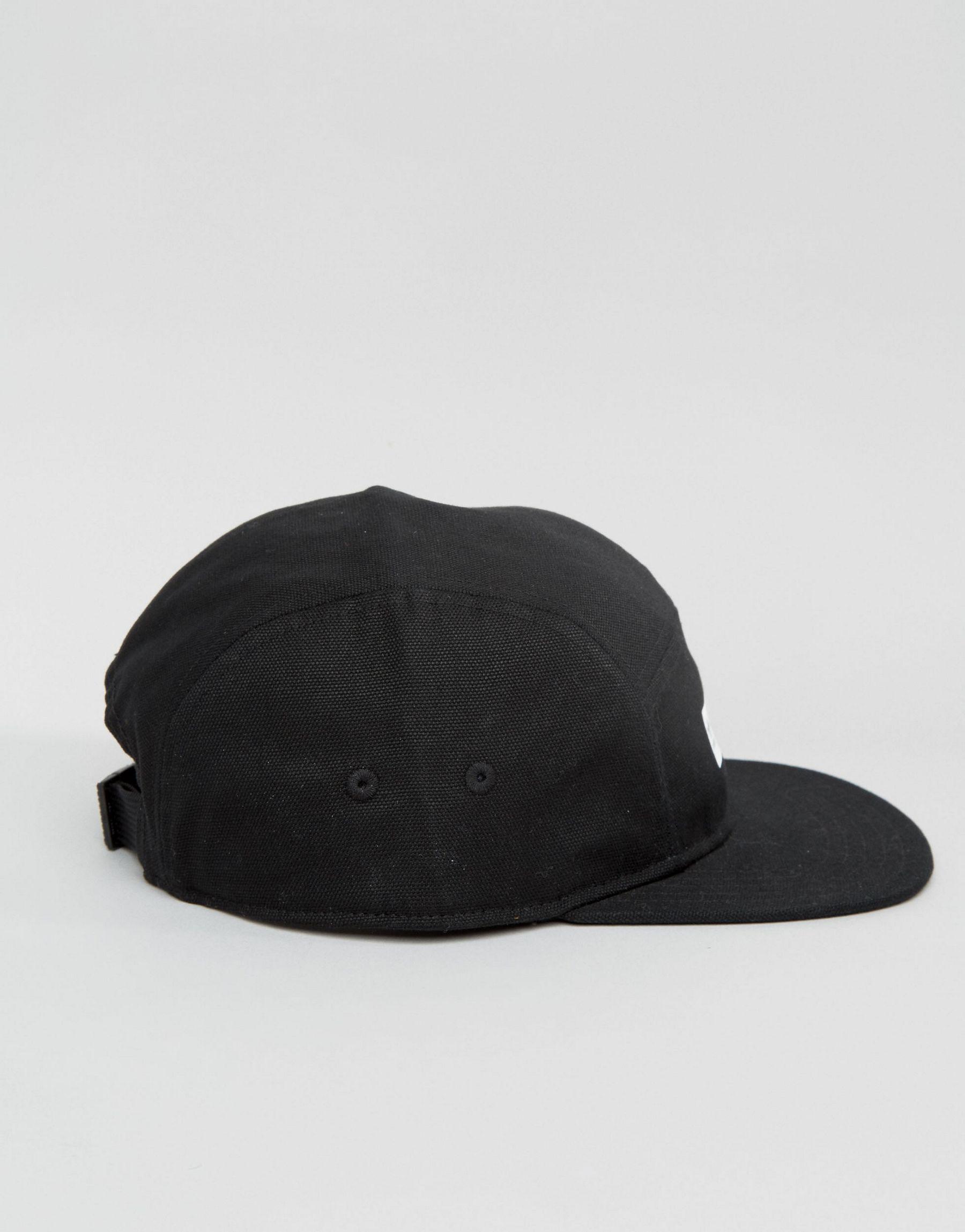59dc083abae ... authentic lyst adidas originals snapback cap in black az0271 in black  for men 4369e 5157e