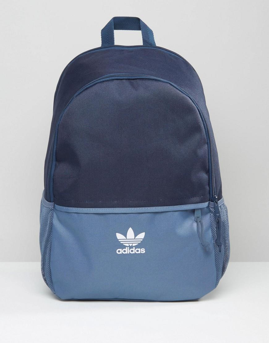 130ac67f95eb Adidas Originals Backpack In Navy Ay7737 in Blue for Men - Lyst