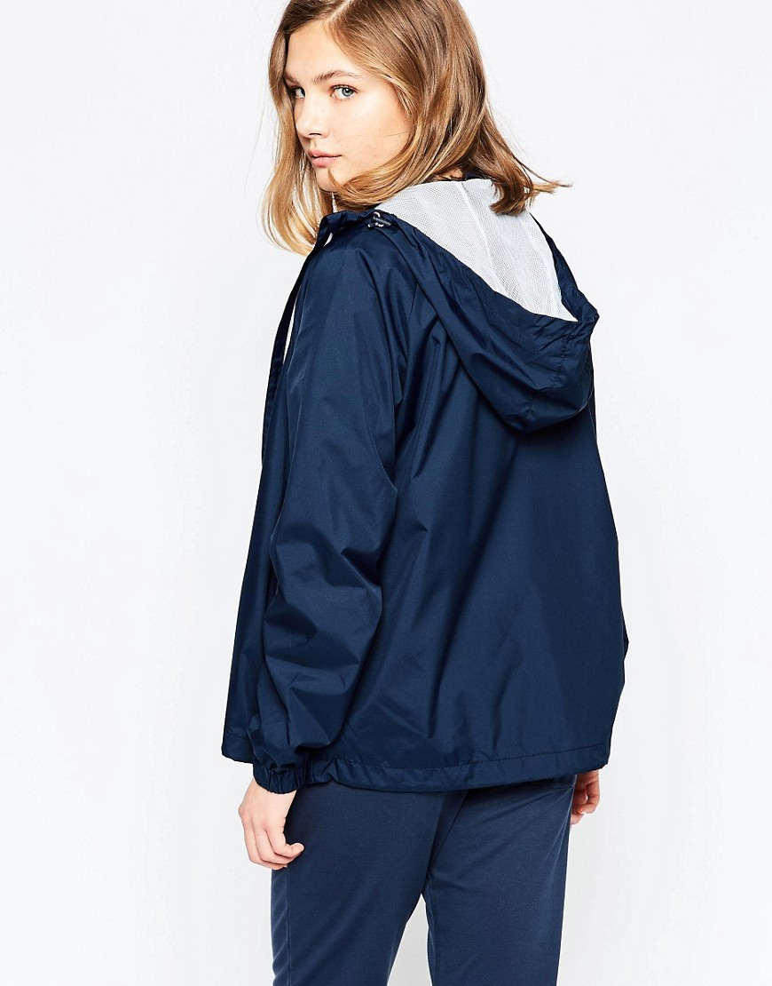le coq sportif fistia jacket in blue lyst. Black Bedroom Furniture Sets. Home Design Ideas