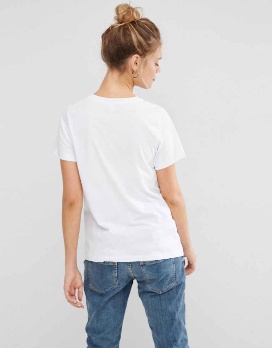 Lyst Asos T Shirt With I Need Space Print In White