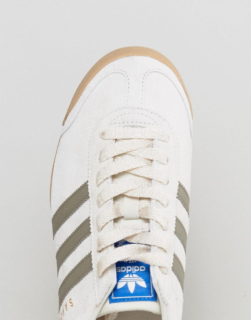 cf5e35bd62d adidas Originals Samoa Vintage Trainers In Beige By3161 in Natural ...