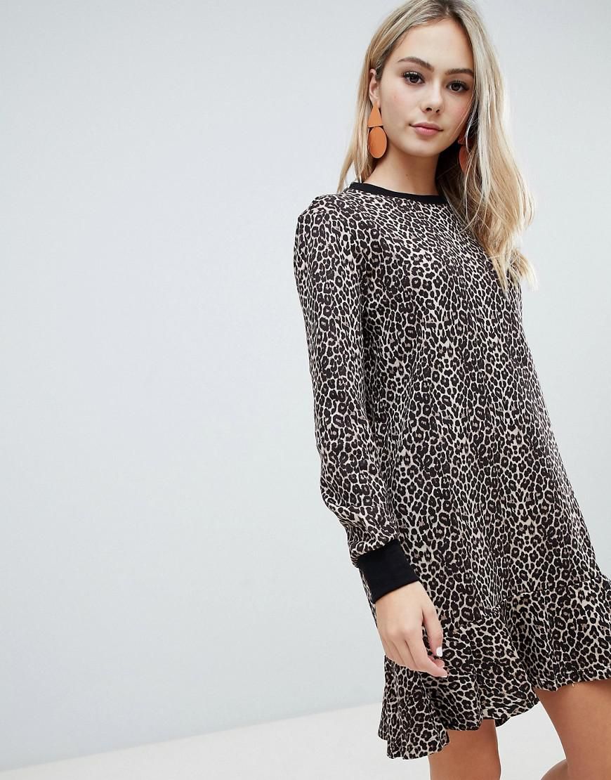 ef258fb8a366 Soaked In Luxury. Women s Leopard Sweater Dress