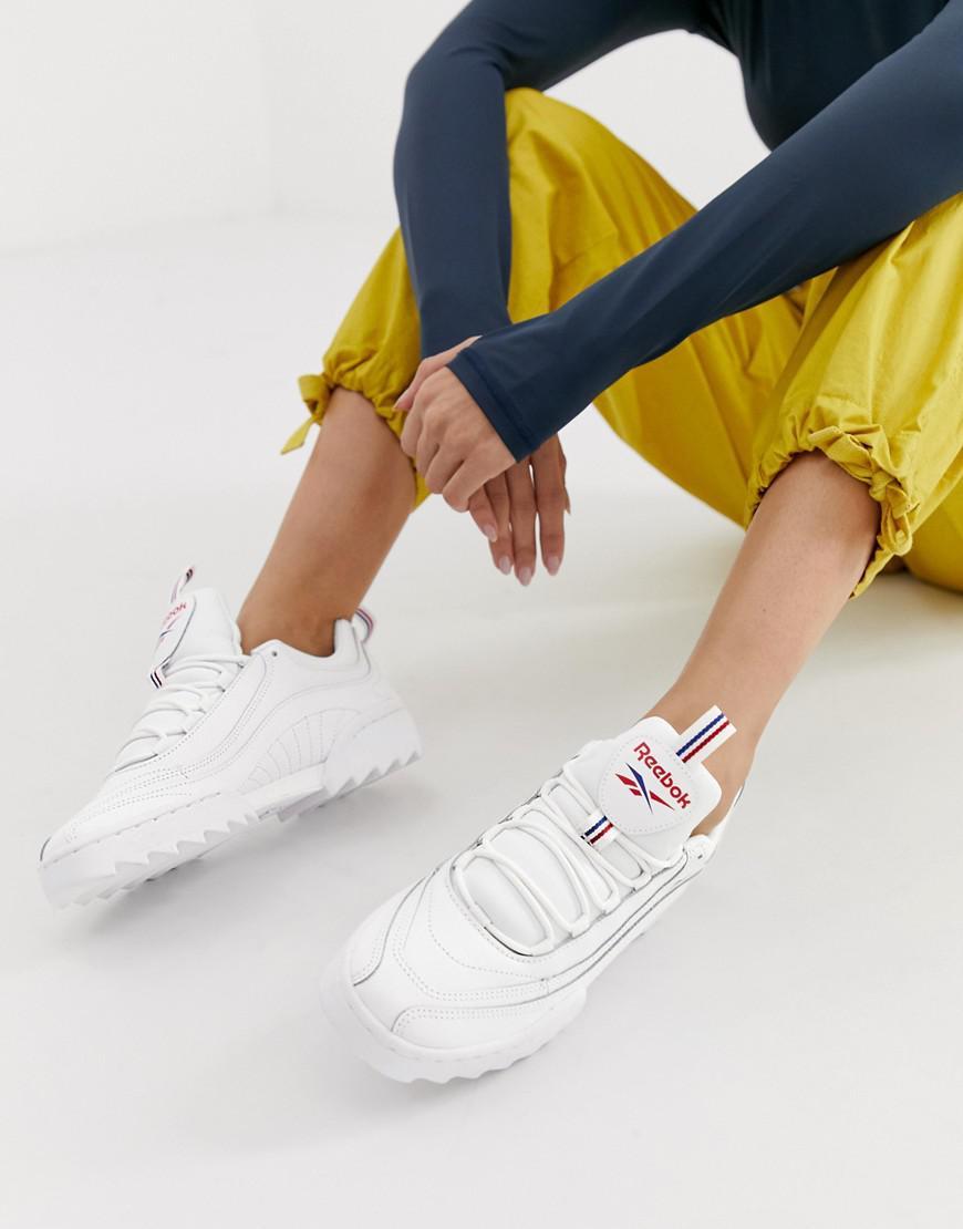 a267831dd7f70 Reebok Rivyx Ripple Trainers In White in White - Lyst