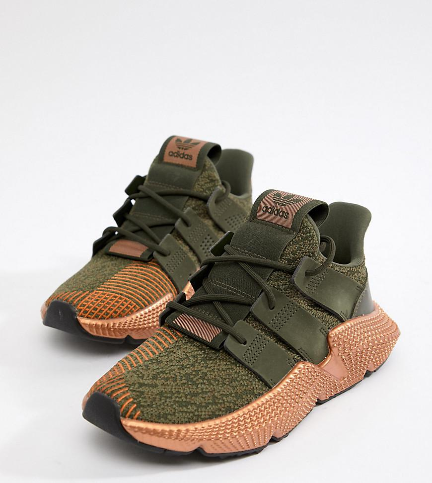 adidas Prophere Sneakers In Khaki And Copper 0R0hqu