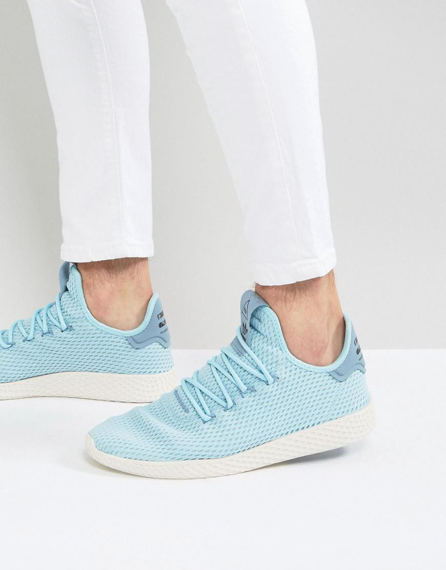 a3be6d34e2071 Lyst - adidas Originals X Pharrell Williams Tennis Hu Trainers In ...