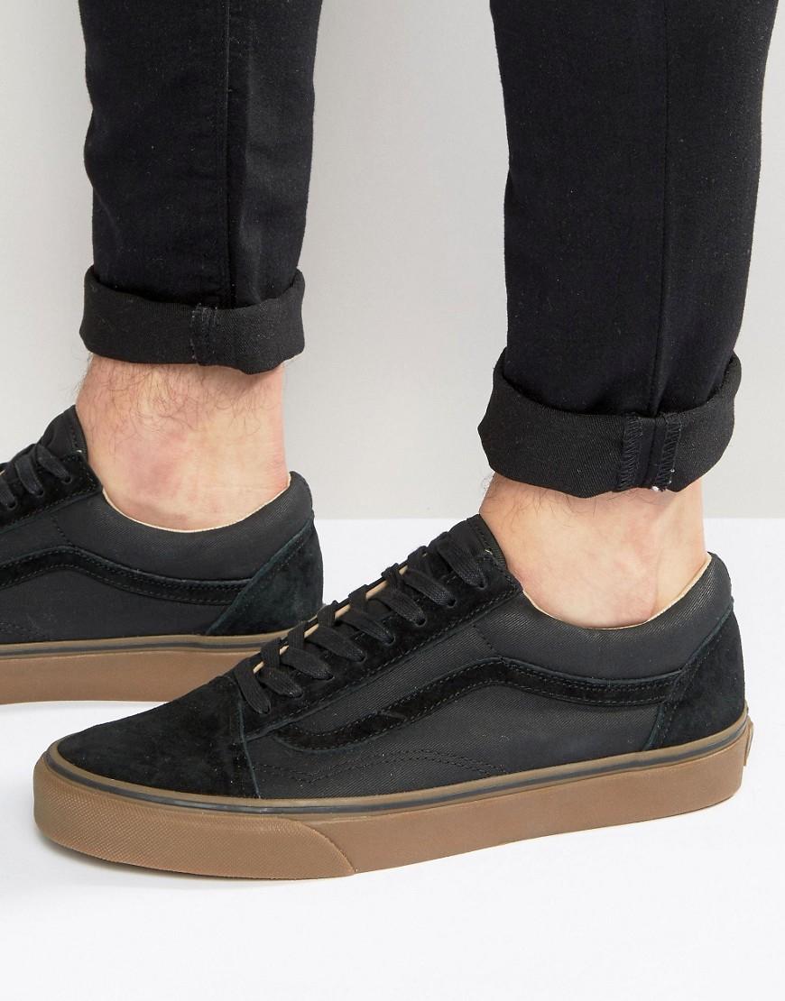 234677e725 Vans Old Skool Gum Trainers In Black Va2xs6jyd in Black for Men - Lyst