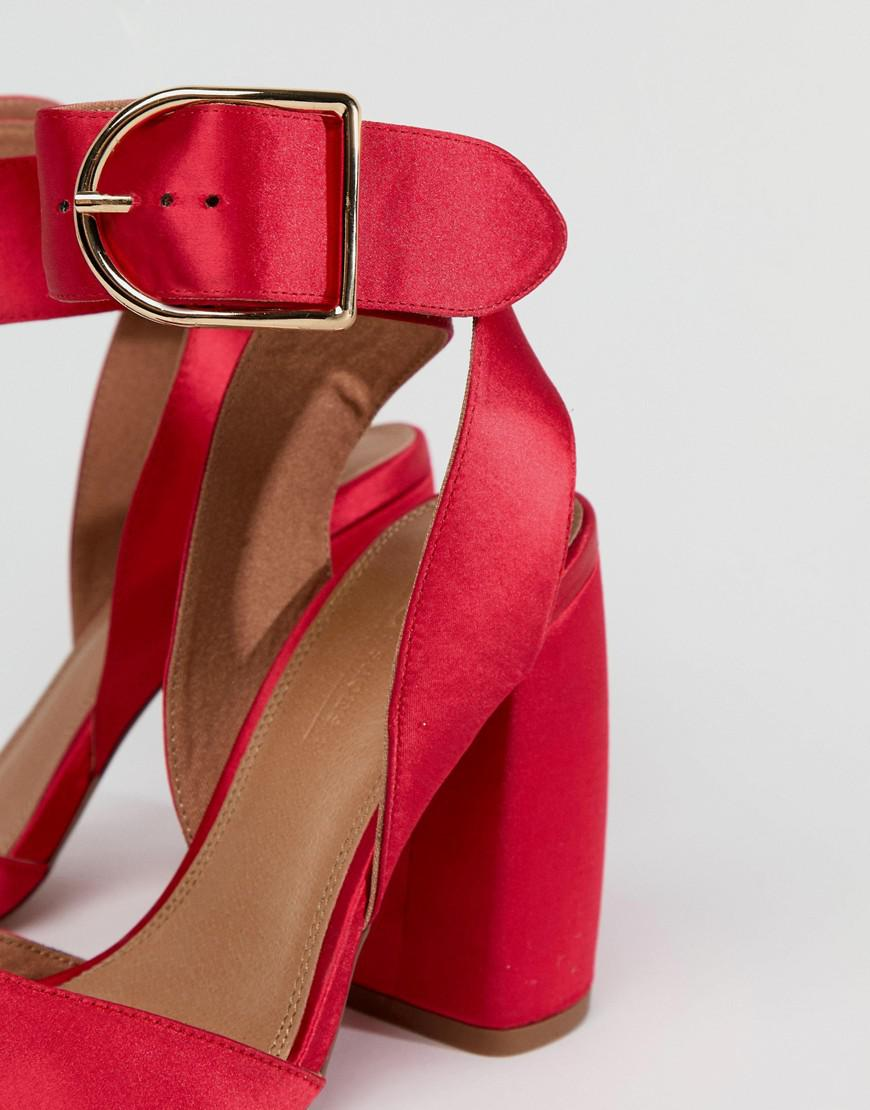 18bff312f501 Asos Asos Pacific High Heels in Pink - Lyst