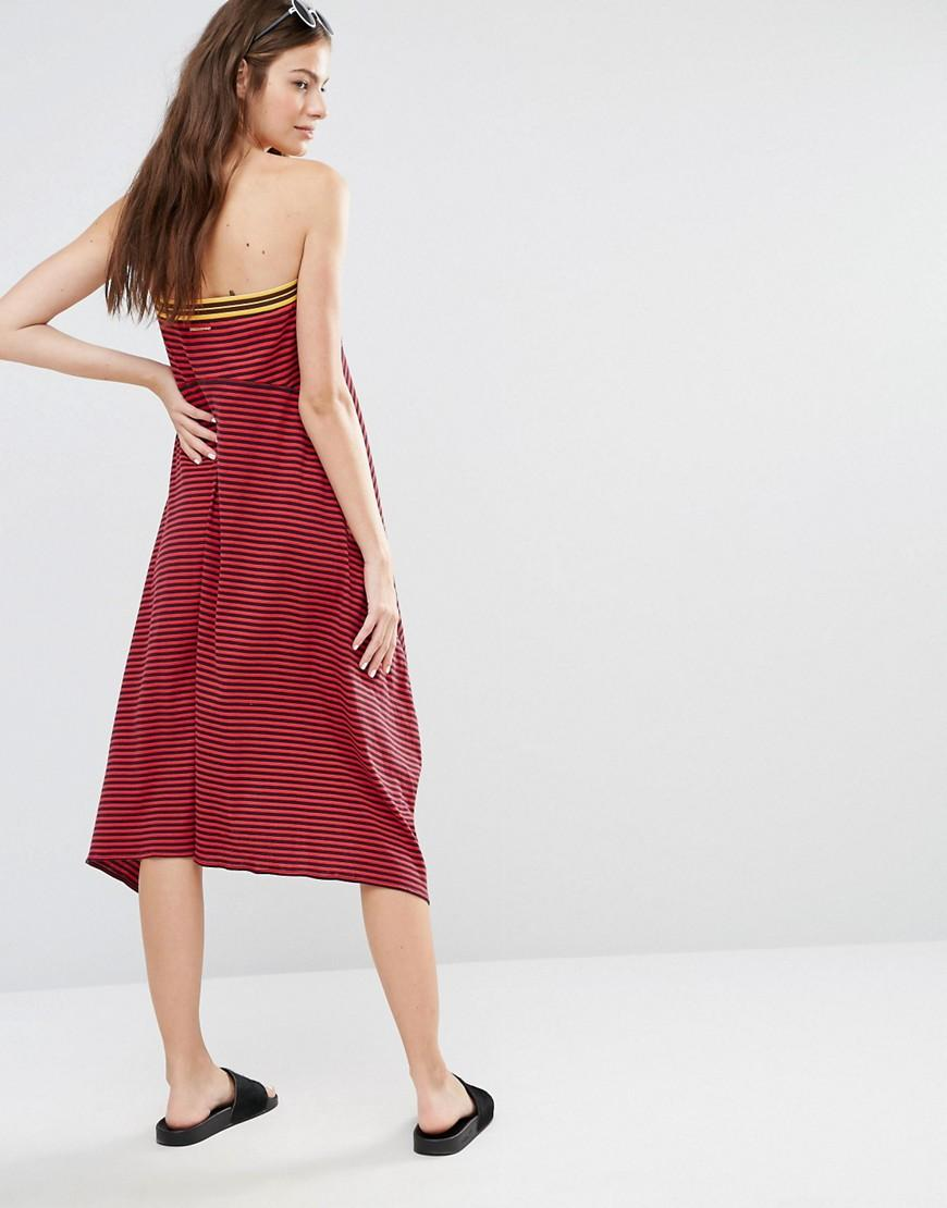 Flame Stripe Multiway Beach Cover Up - Flame/navy stripe Stella McCartney cR9fy