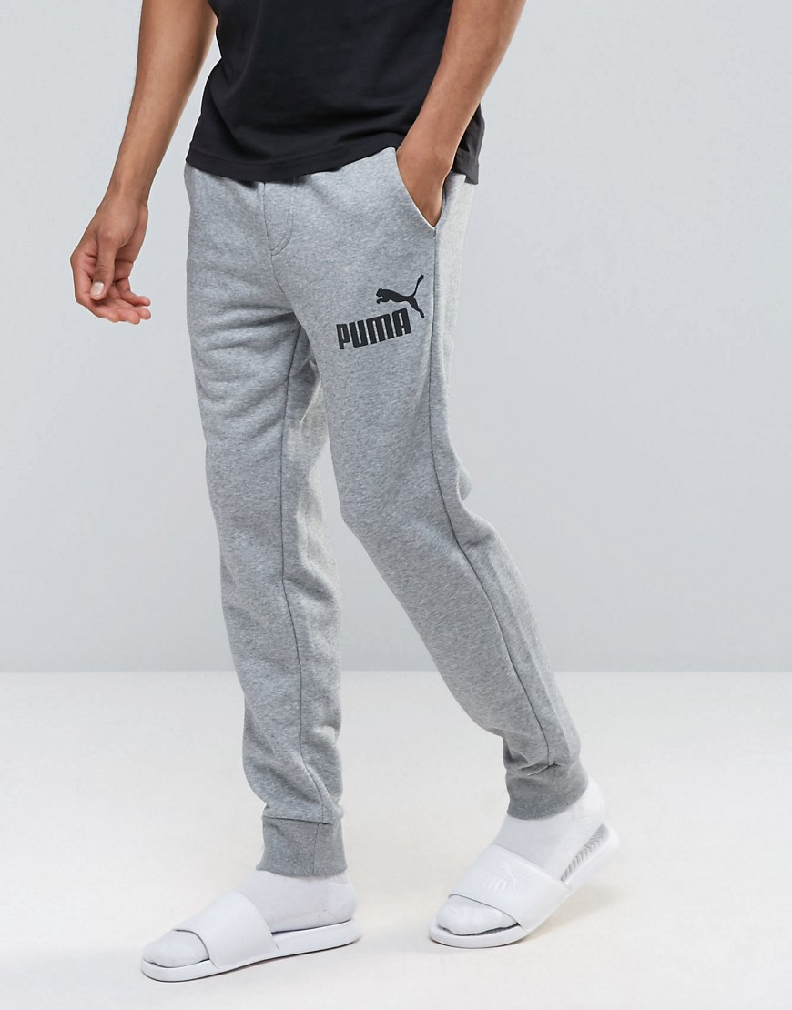 697689f6c844 Puma No.1 Logo Joggers In Grey 83826403 in Gray for Men - Lyst