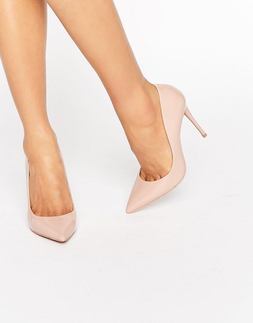 b68886897437 ALDO Stessy Nude Point Court Shoes in Natural - Lyst