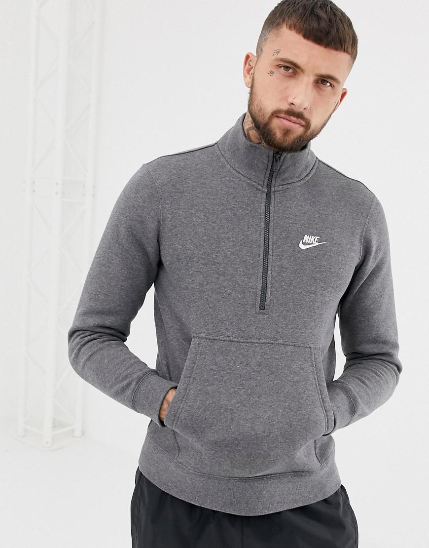 Men Jersey 071 Nike Sweat Zip Lyst In Grey Half 929452 Gray For pOqBnOvH