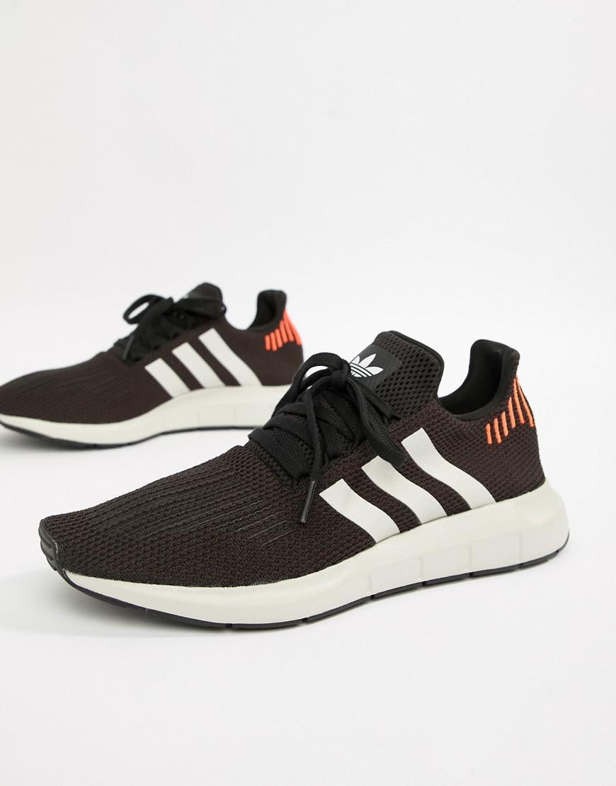 the best attitude 94dde f433e adidas Originals. Men s Swift Run Sneakers In Black B37730