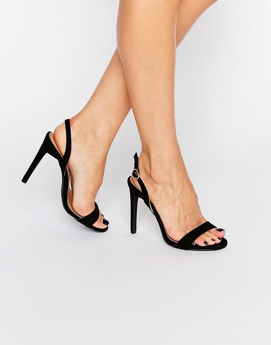 Open Back Heeled Shoes