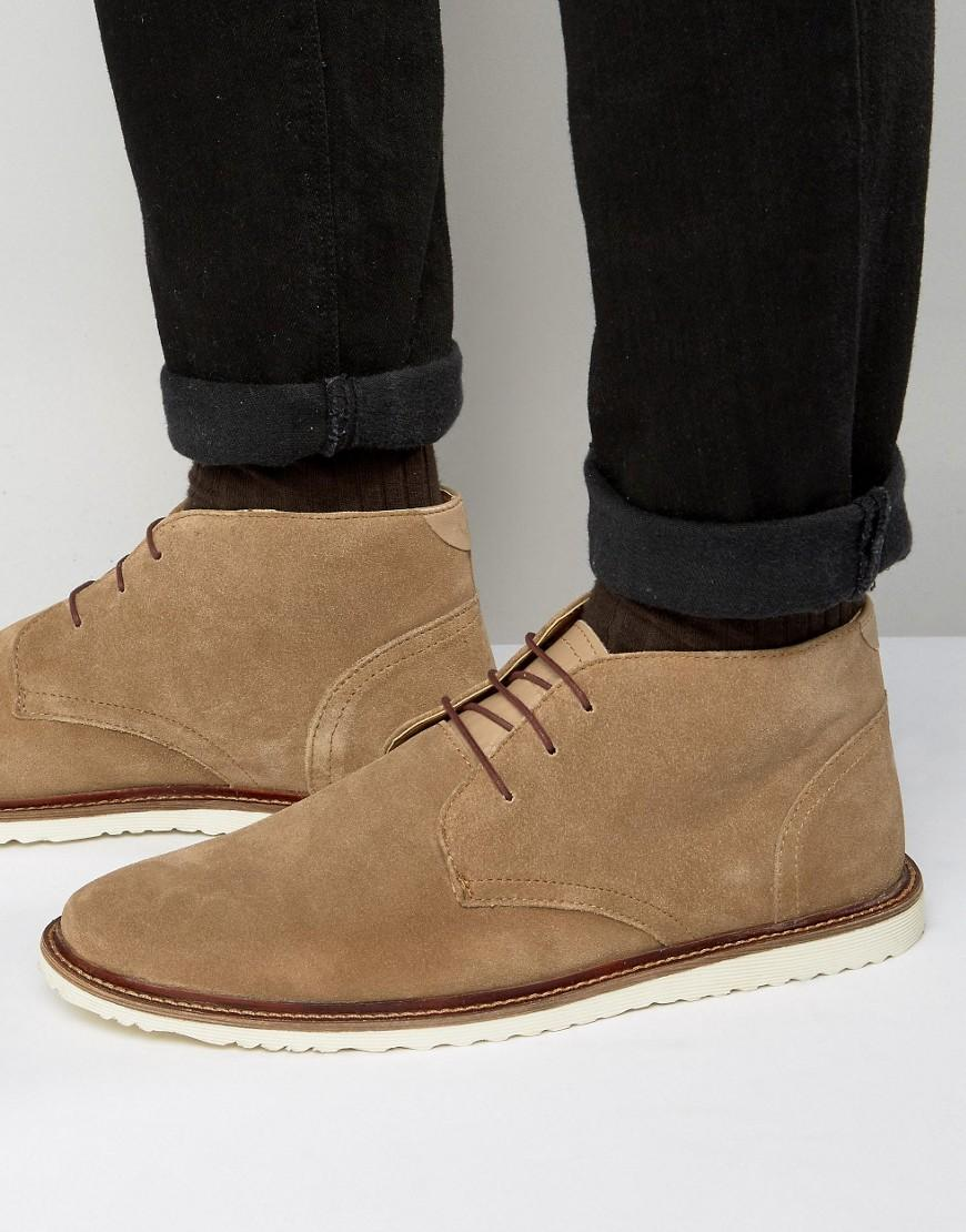 kg by kurt geiger kg by kurt geiger suede chukka boots in