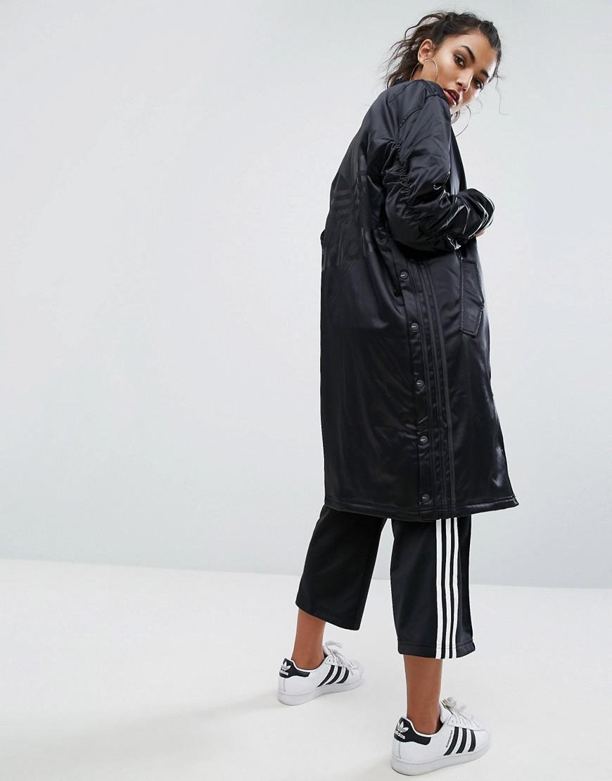 Adidas Originals Originals Longline Bomber Jacket With