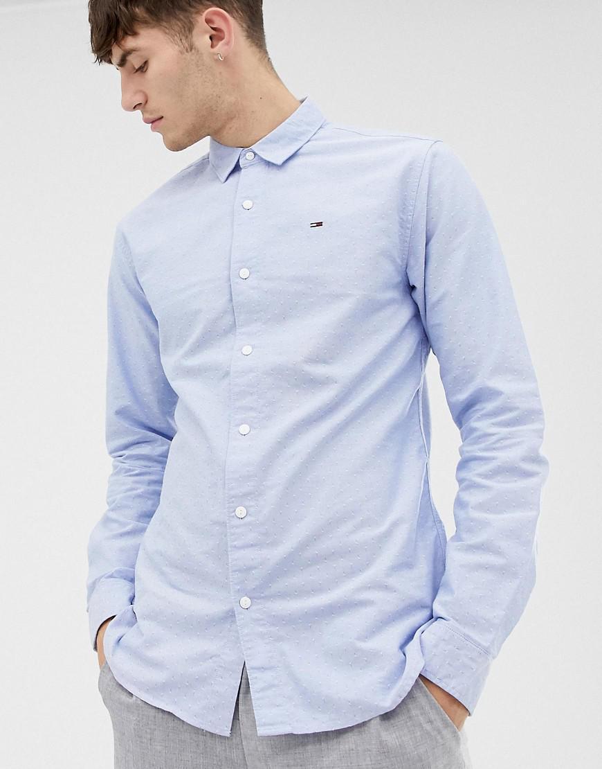 Lyst Tommy Hilfiger Slim Fit Oxford Shirt In Blue For Men