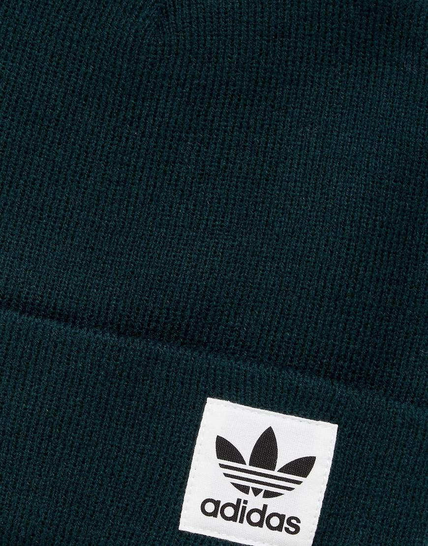 ebcd8f18 adidas Originals Originals High Beanie With Trefoil Logo In Dark ...