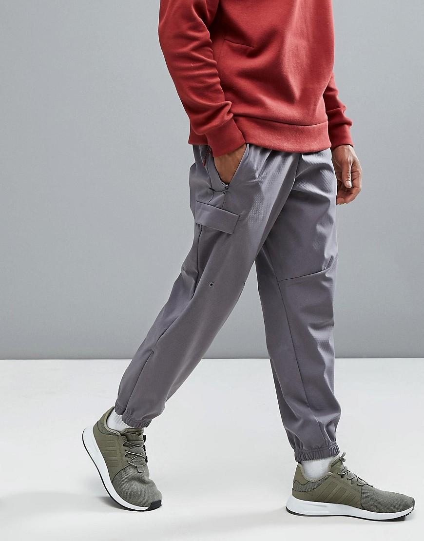 06362c38a adidas Originals Originals Zne Cuffed Joggers With Side Pocket In ...