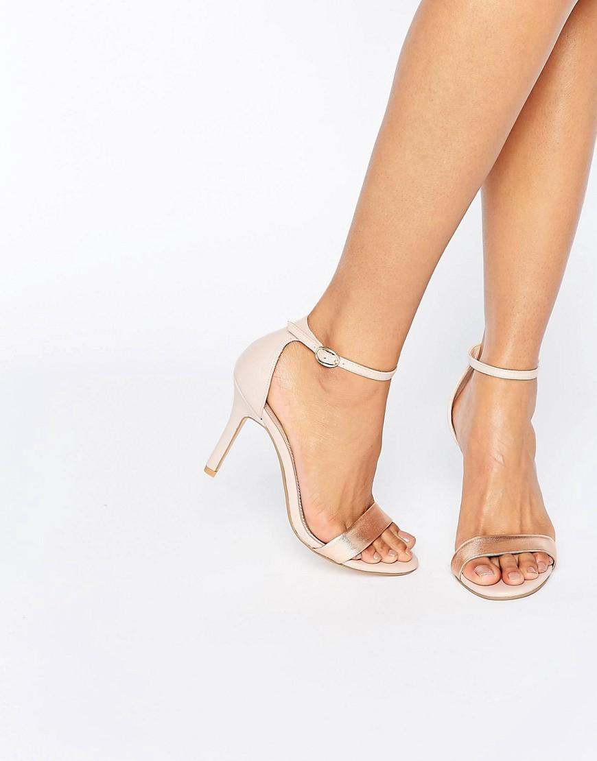 Dune Shoes White Rose
