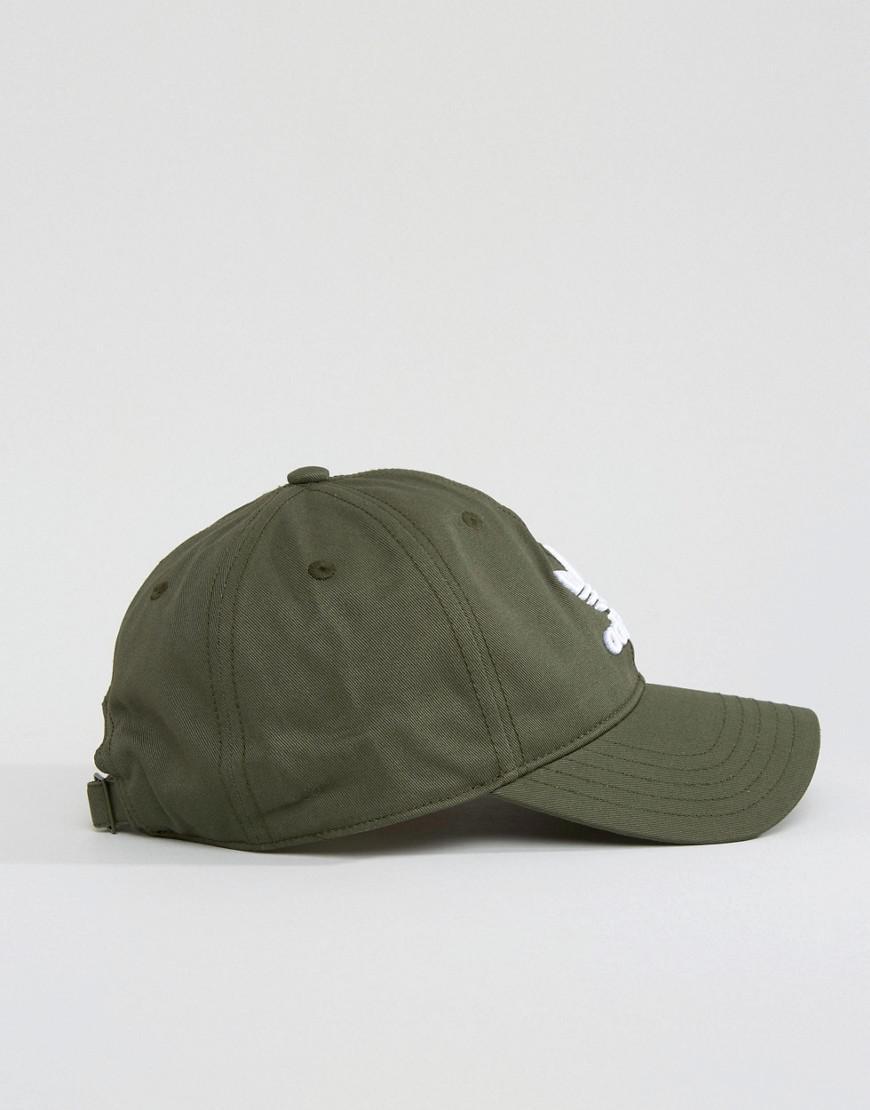 b28369c63ad ... store 0338d 98e81 Lyst - Adidas Originals Trefoil Cap In Green Cd8803  in Green ...