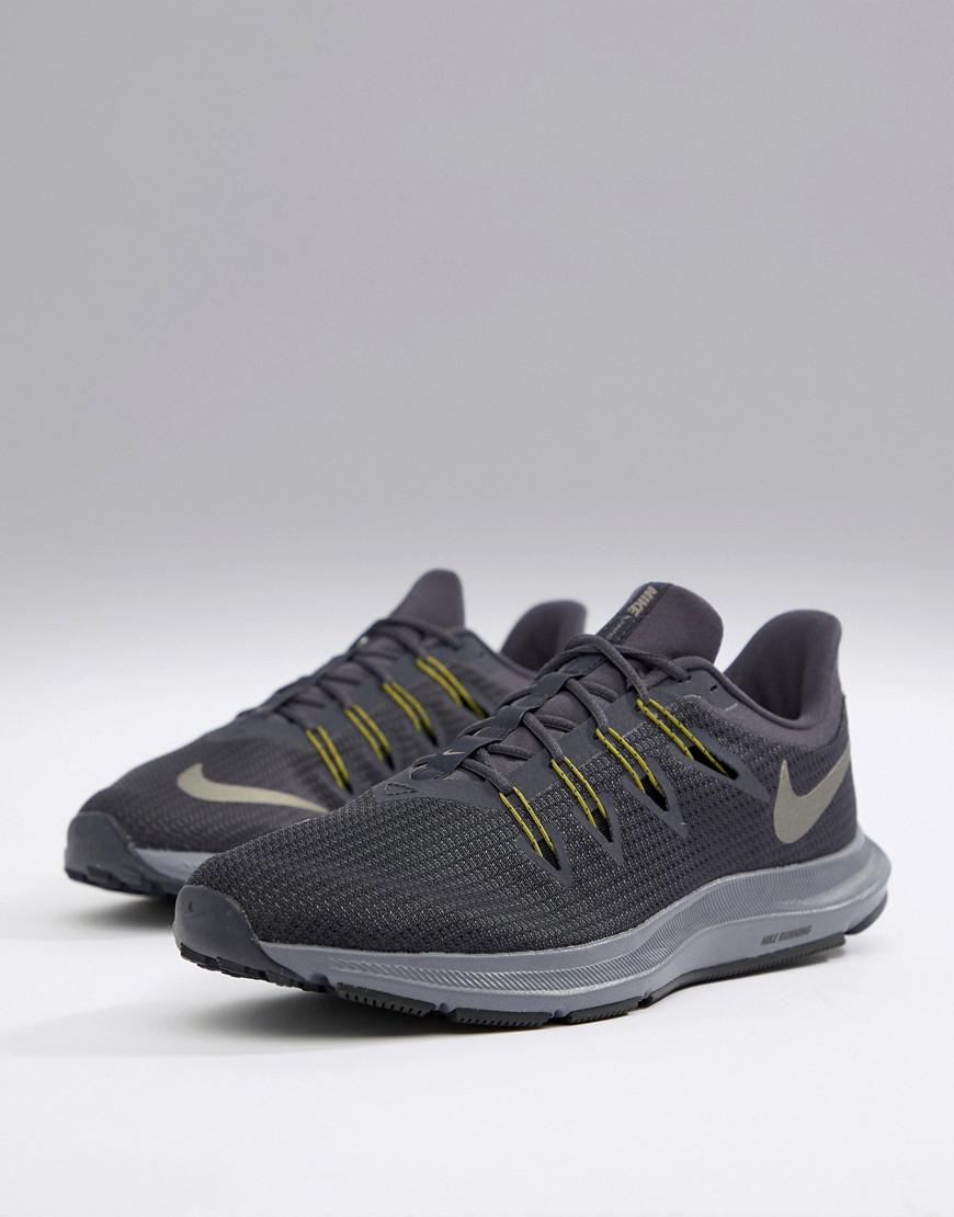5758e5ade83ea Nike Quest Trainers In Grey Aa7403-006 in Gray for Men - Lyst
