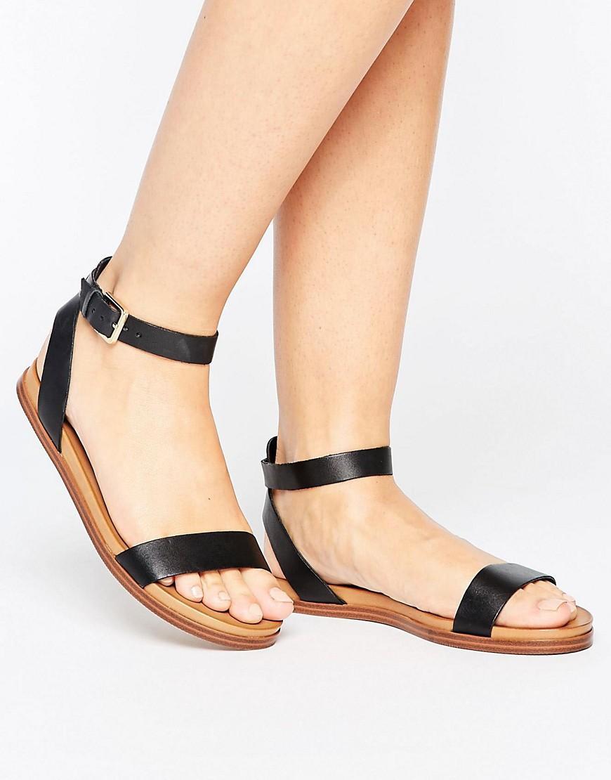 858c8533aa85 ALDO Gwenna Strap Flat Sandals in Black - Lyst
