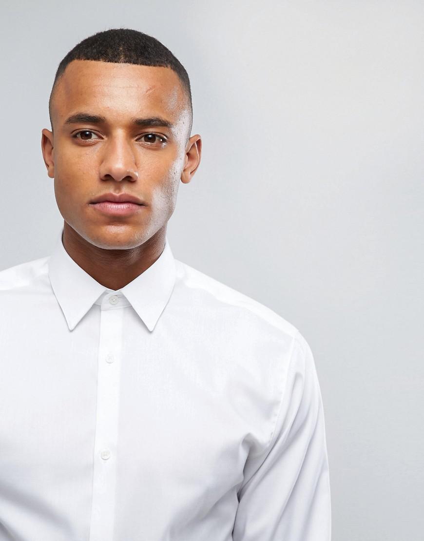 Premium Slim Non-Iron Smart Shirts - White Jack & Jones Cheap Sale Marketable s5Mut3fw