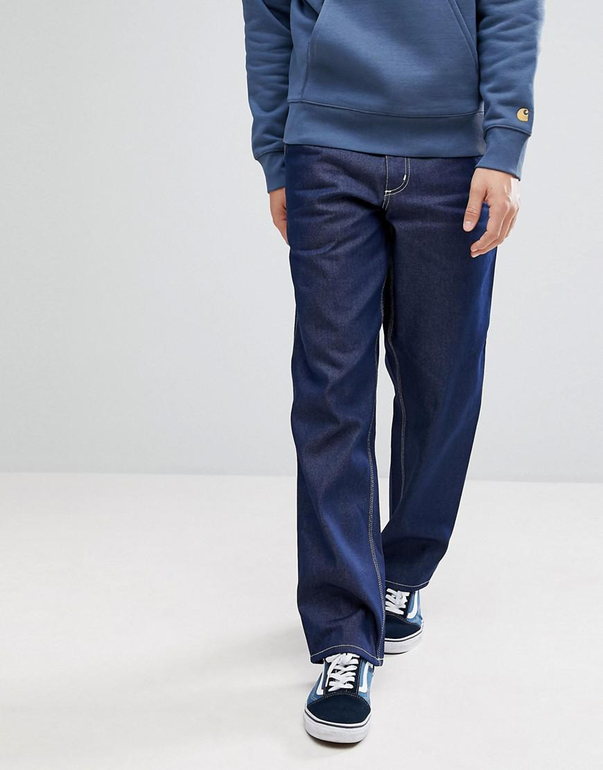 25e3cc5aa97 Carhartt WIP Simple Pant In Relaxed Straight Fit in Blue for Men - Lyst