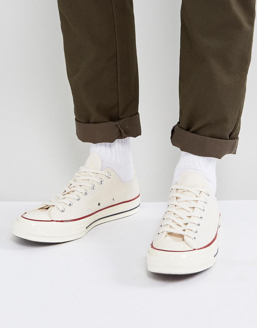 92c280f3d688 Converse Chuck Taylor All Star  70 Ox Plimsolls In Parchment 142338c ...