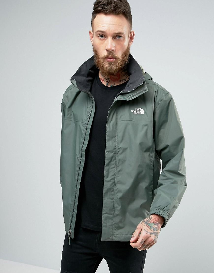 Lyst - The North Face Resolve 2 Jacket Stoweaway Hood In Green in ... 5a8cf4172