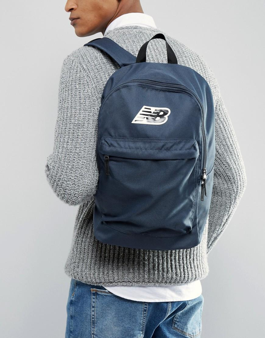 1fdb6e3ed3 New Balance Pelham Classic Backpack In Blue Nb500210-025 in Gray for ...