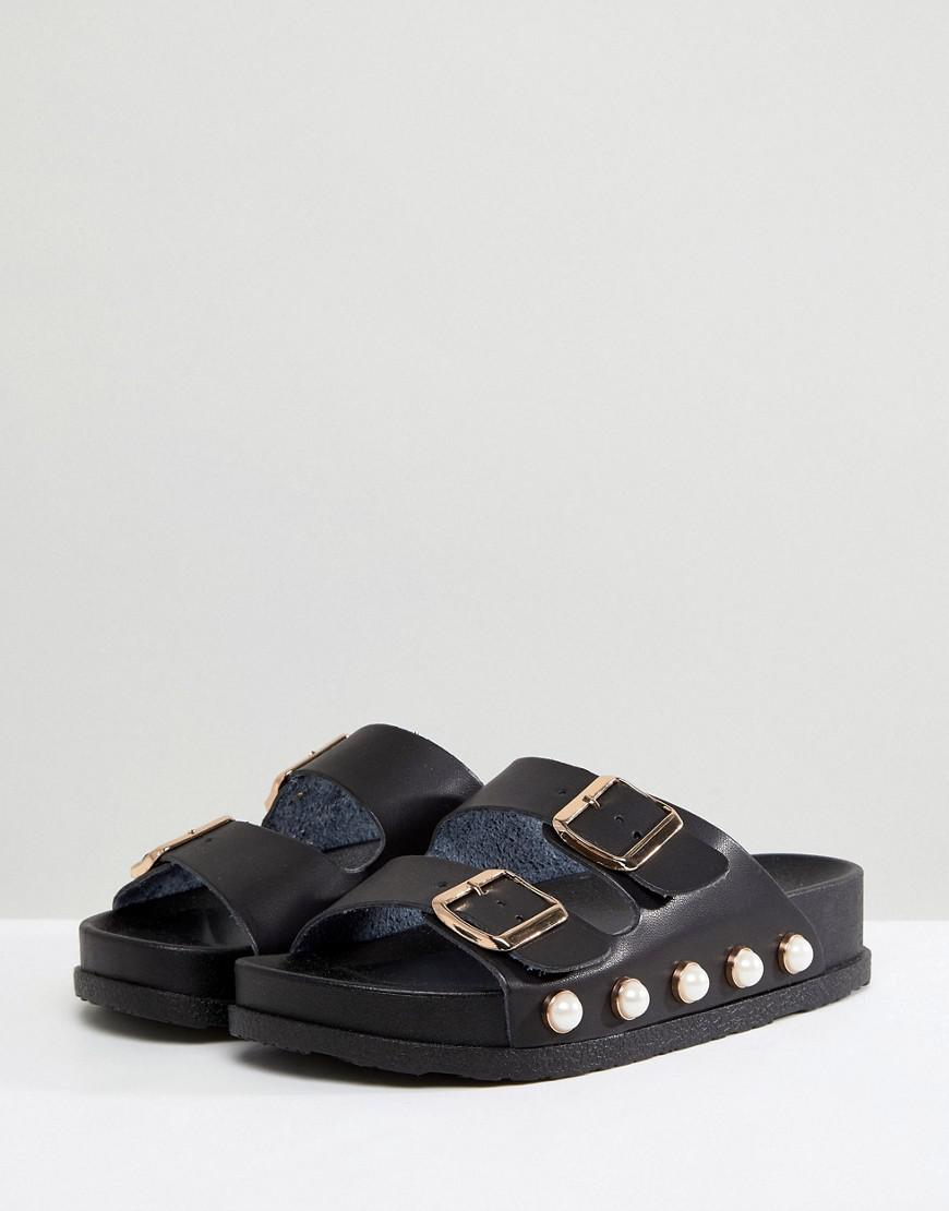Miss KG Pearl Double Strap Slip On vnqcDNKv