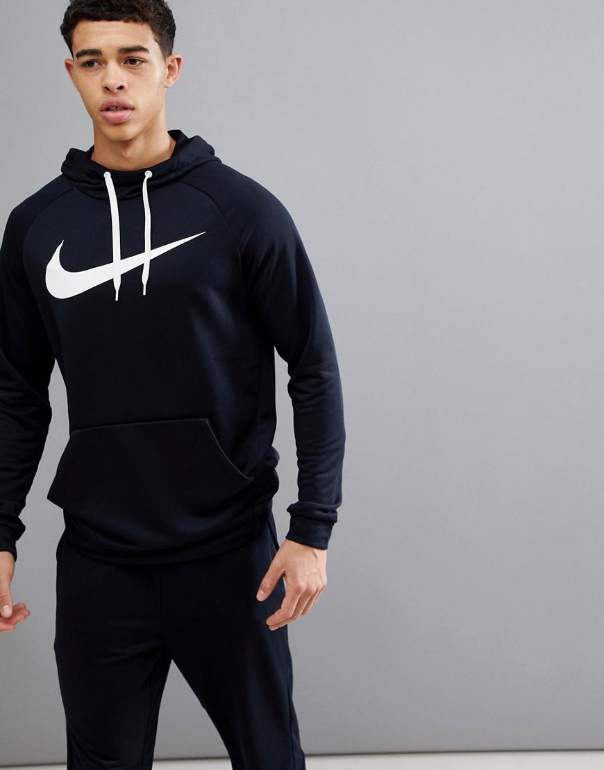 Nike Dry Swoosh Hoodie In Black 885818-010 in Black for Men - Lyst 28a4f1290