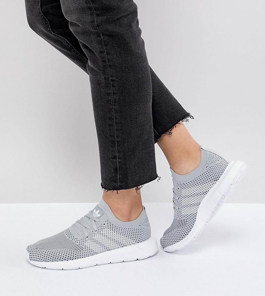 26299f009 adidas Originals Swift Run Primeknit Trainers In Grey in Gray - Lyst