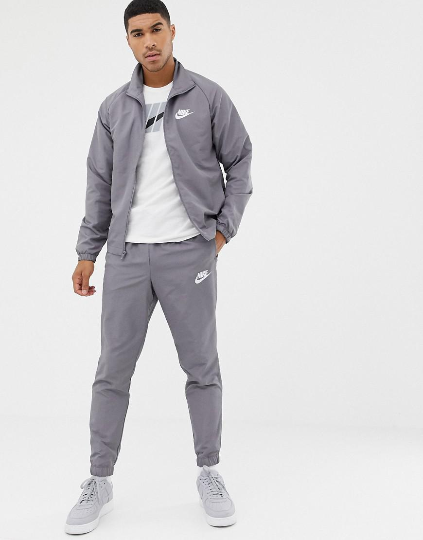 2b4aa911d2 Nike Woven Tracksuit Set In Grey 861778-036 in Gray for Men - Lyst