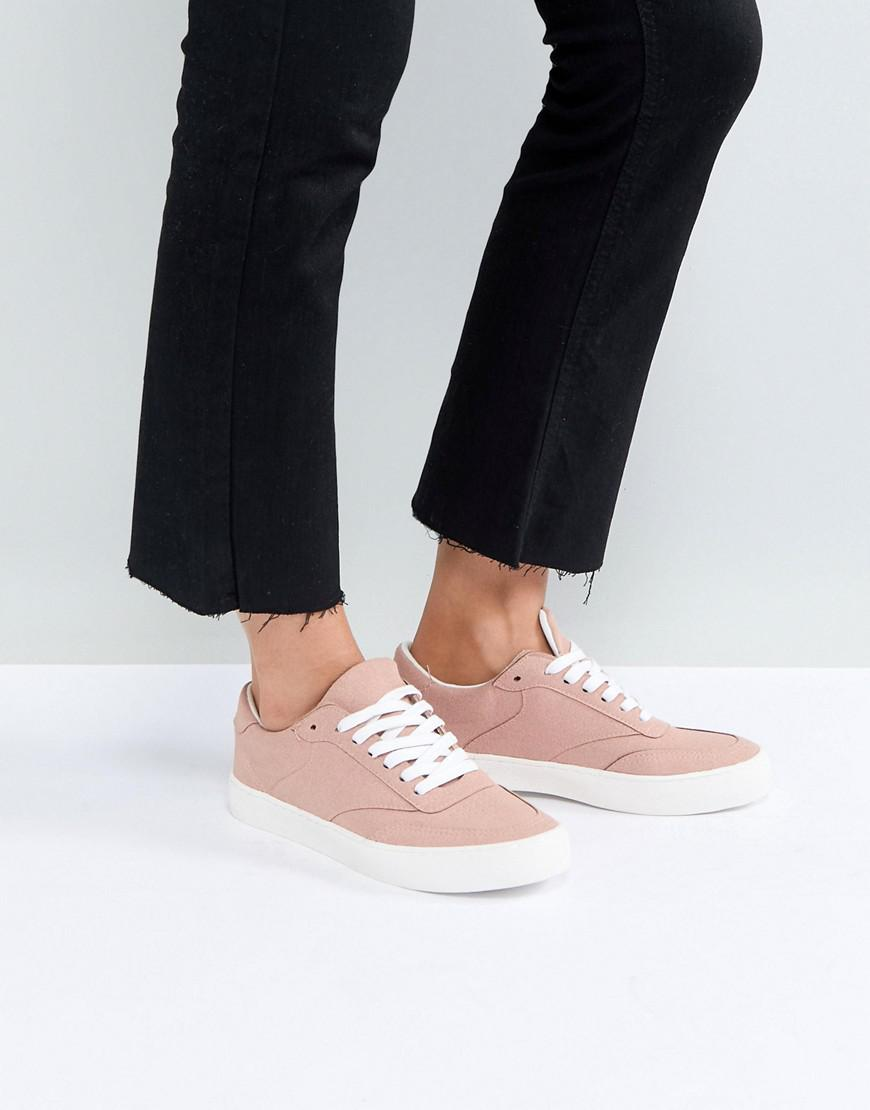Asos Dentelle Dolcetto Up Formateurs - Rose RS4LOT