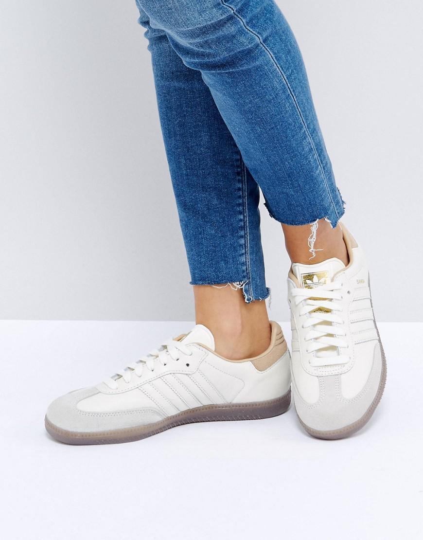 adidas Originals SAMBA - Trainers - white JmOVaFEUy5