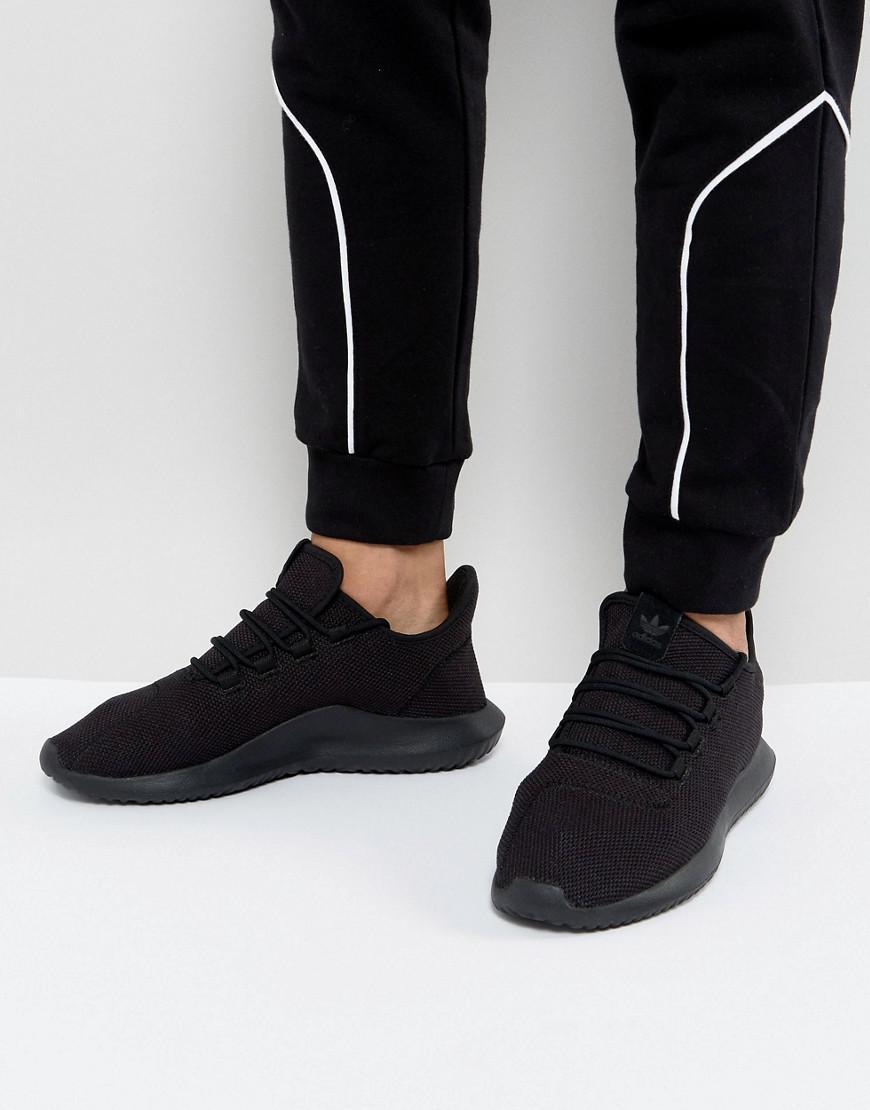 43c087a0b8718b Lyst - adidas Originals Tubular Shadow Sneakers In Black Cg4562 in ...