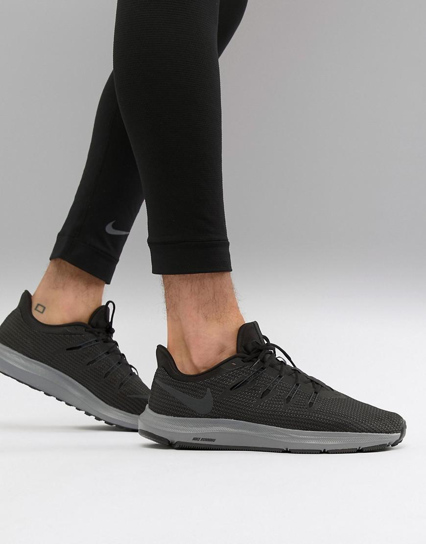 Nike Quest Trainers In Black Aa7403-002 in Black for Men - Lyst d1dbfd563