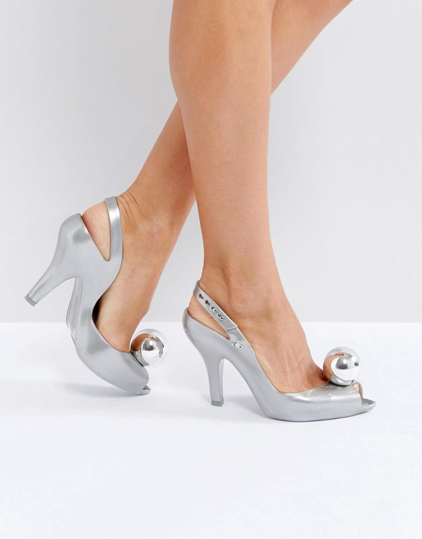 Silver Heeled Shoes Uk