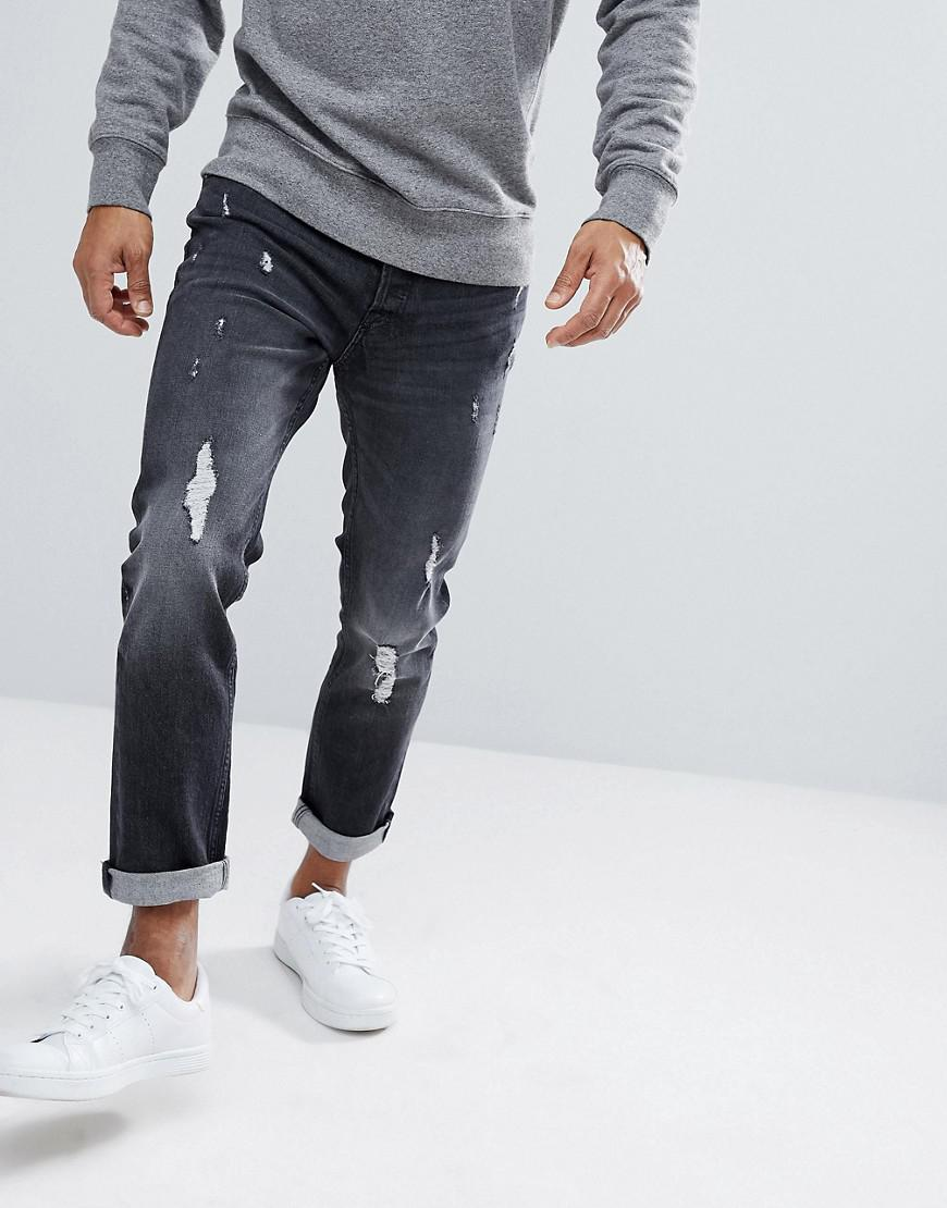 Intelligence Skinny Jeans in Washed Grey - Washed grey Jack & Jones Cheap Low Price Cheap Price Wholesale Price Discount Exclusive XFyDOGjvp