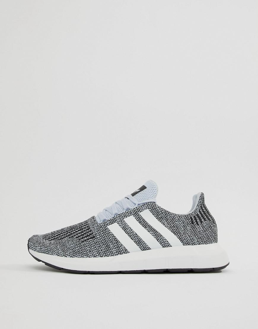 5ba27a4bb869be Lyst - adidas Originals Swift Run Sneakers In Gray Cq2122 in Blue for Men