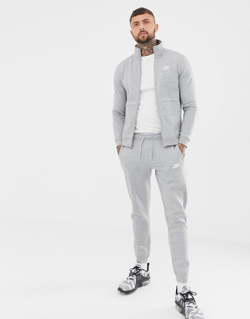 d2994c3c41 Nike Fleece Tracksuit Set In Grey 928125-063 in Gray for Men - Lyst