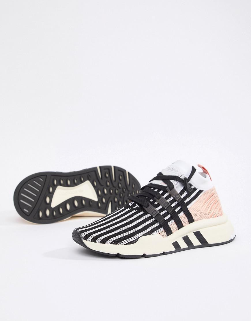 hot sale online cdda9 20777 adidas Originals. Womens Black Eqt Support Mid