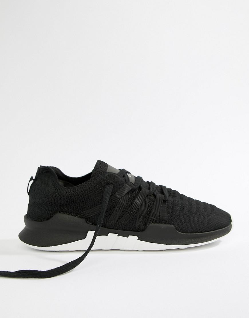 9931d494003f Lyst - adidas Originals Eqt Racing Adv Primeknit Sneakers In Black in Black
